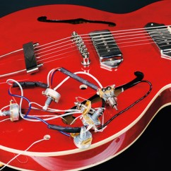 Lollar P90 Wiring Diagram Danfoss S Plan Plus How To Change The Pickups On A Gibson Es 335 Style Guitar Musicradar