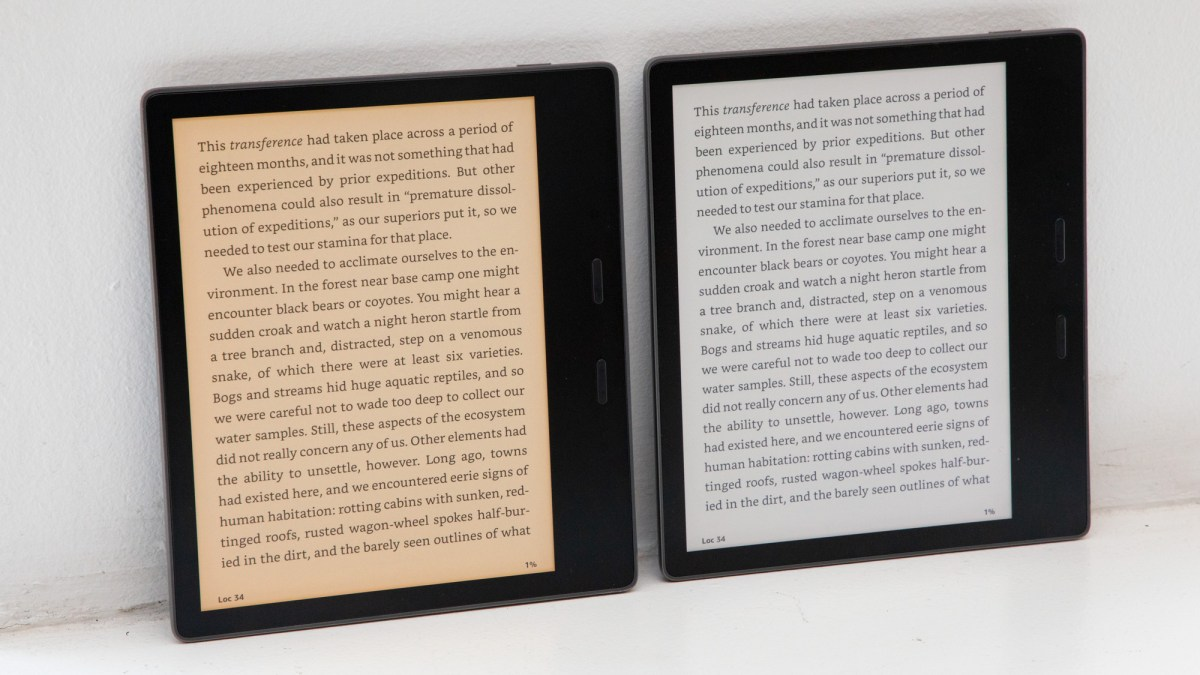 Kindle Oasis 2019 review: screen warmth