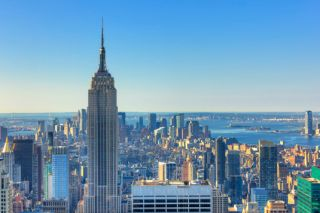 Famous buildings: The Empire State Building in New York