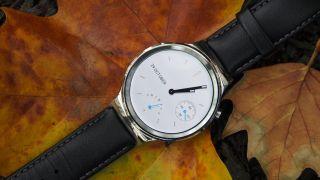 The Huawei Watch looks far more stylish than the Huawei Watch 2