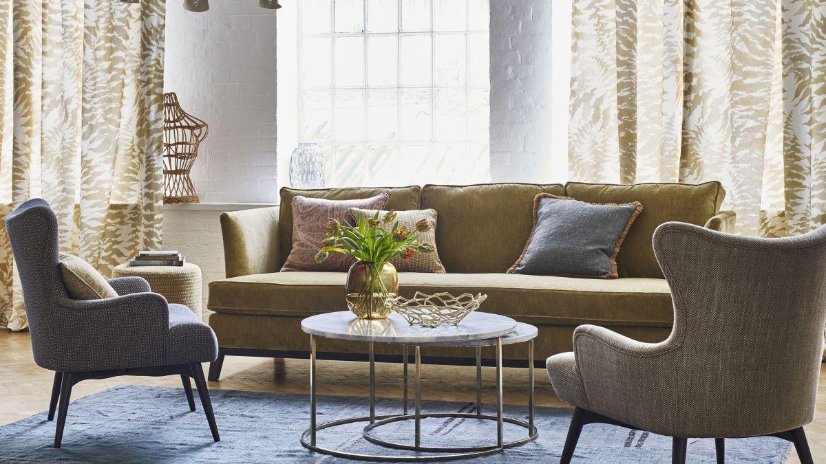 15 Fresh Living Room Curtain Design Ideas