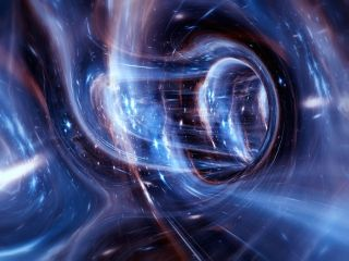 Gravity arises from the distortion of space-time itself.