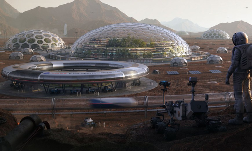 These Stunning Designs Show What Our Future on Mars Might Look Like   Space