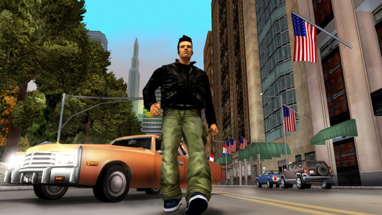 Images from the Grand Theft Auto series