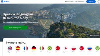 Busuu learning apps