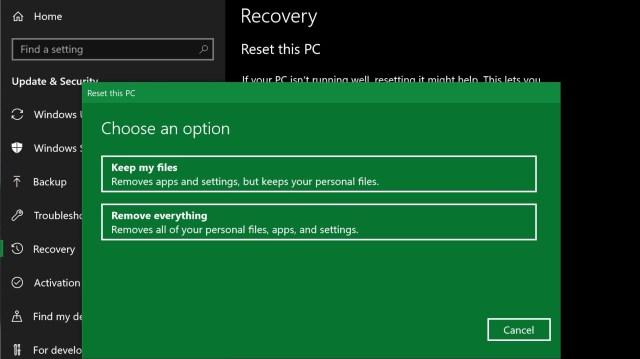 How to factory reset Windows 27  TechRadar