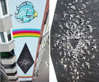 Street art: Mademoiselle Maurice