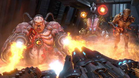 3d Action Game Wallpaper Hands On Doom Eternal Review Techradar