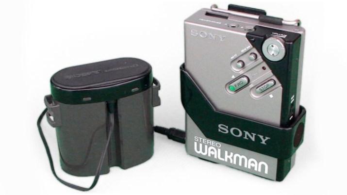 Image of 1980s model Sony Walkman