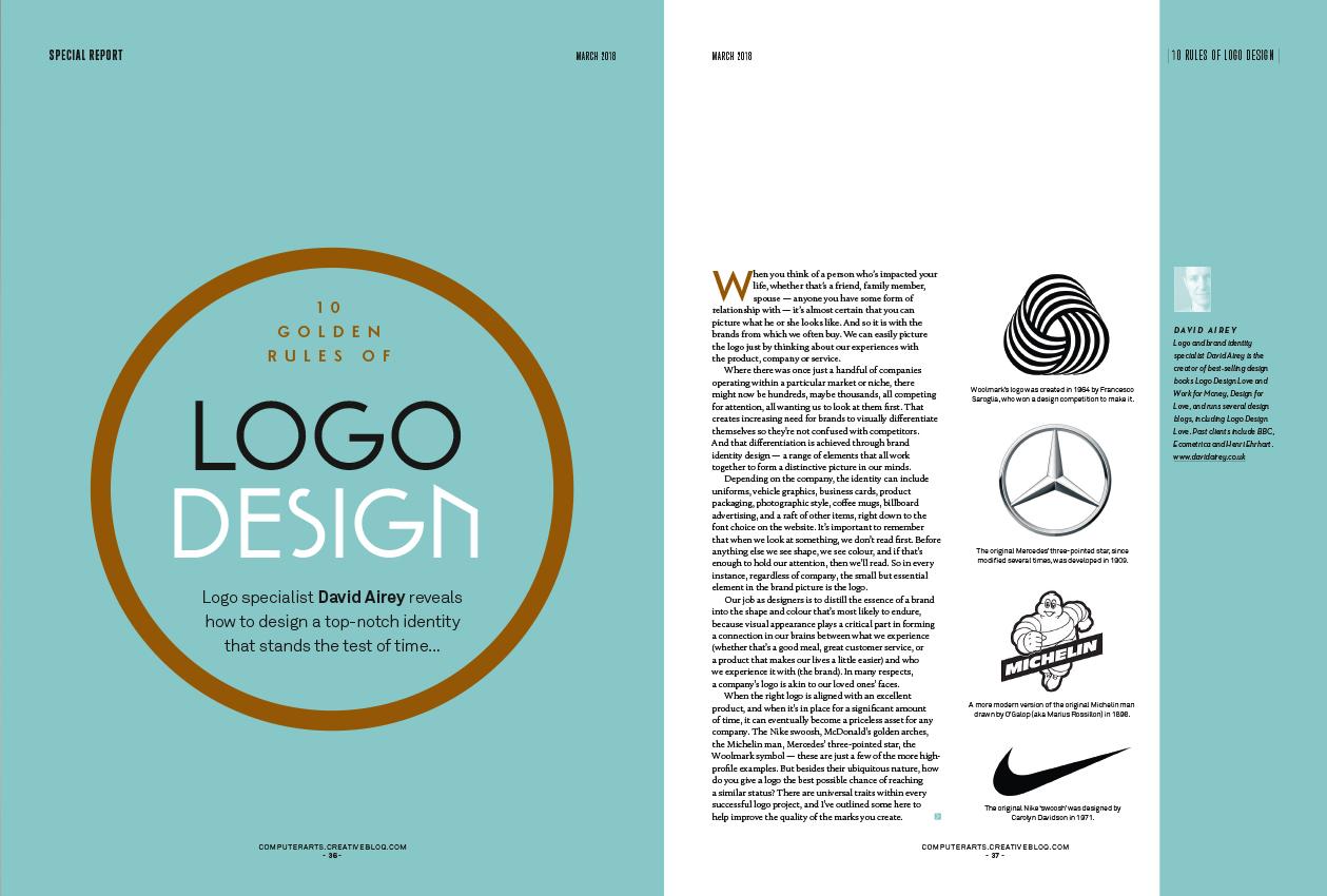 10 golden rules of logo design