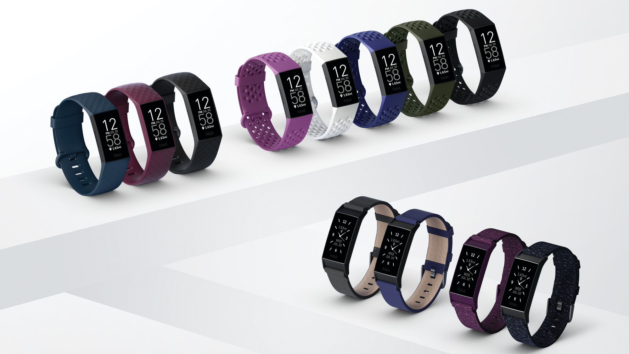Full range of Fitbit Charge 4 case and band designs