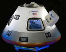 Boeing Cst-100 Starliner 21st Century Space Capsule