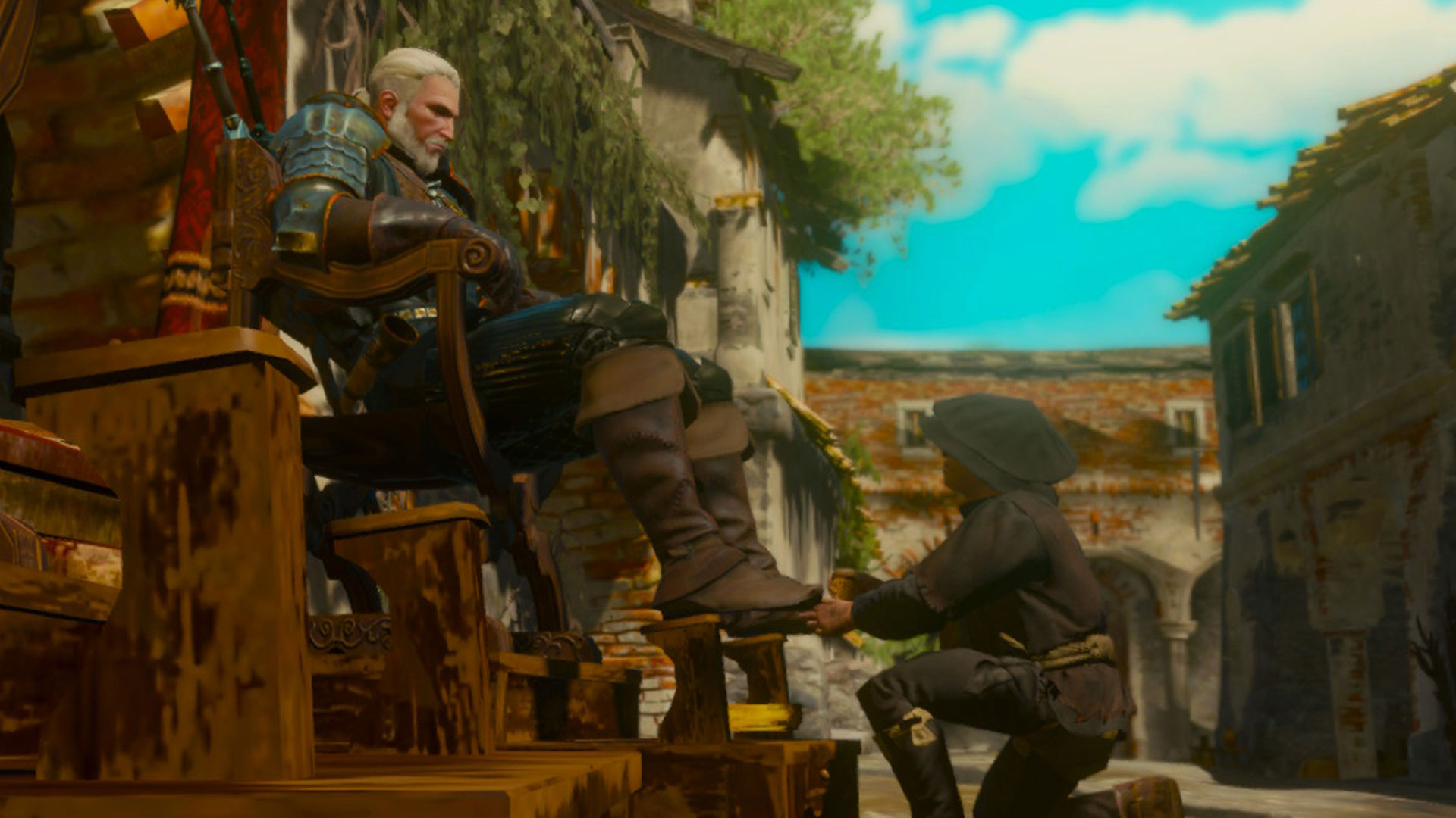 the witcher 3 on