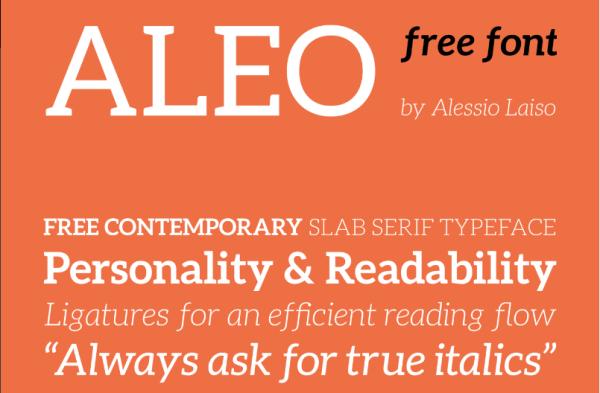 Free fonts Ailerons