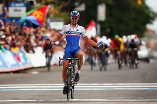 Sagan took the first of his three Worlds titles in Richmond, USA