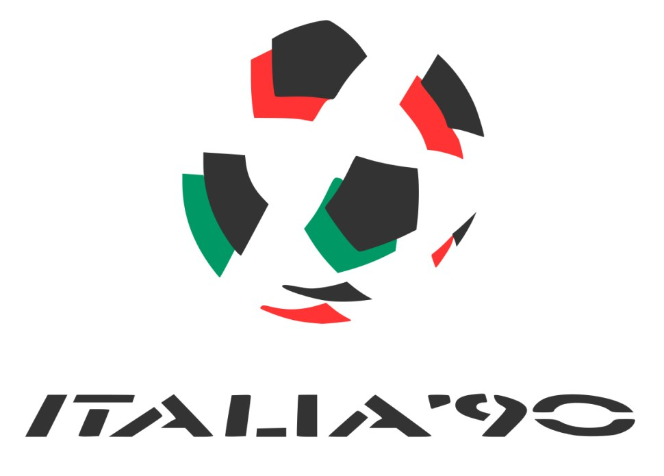 Italy 1990 world cup logo