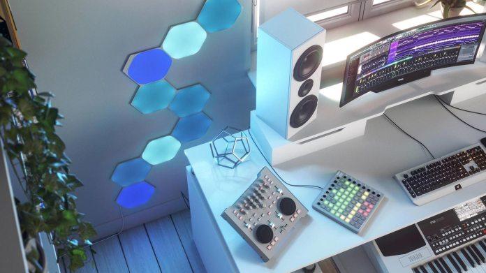 best smart lights: Nanoleaf Shapes