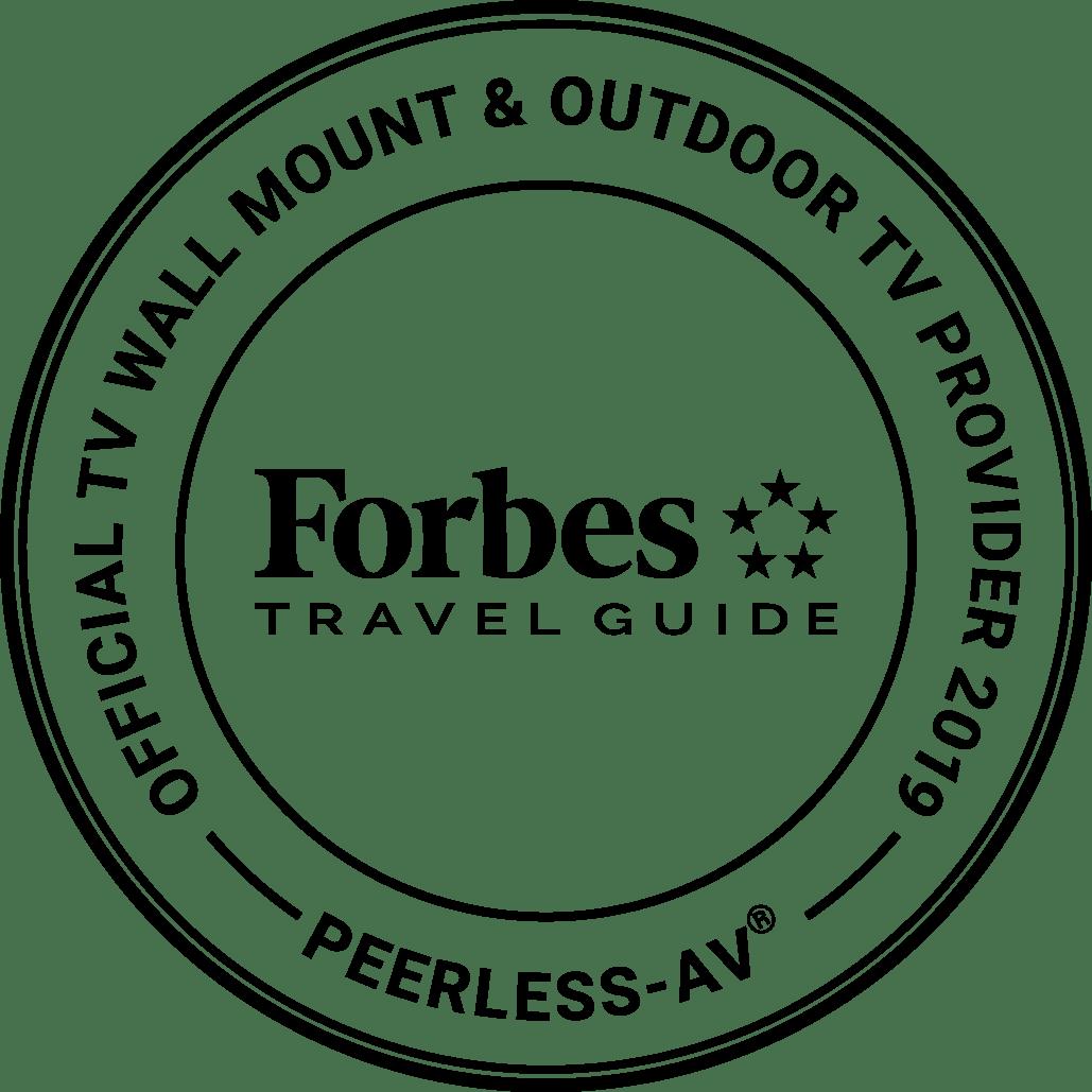 Peerless-AV Named a 2019 Brand Official of Forbes Travel