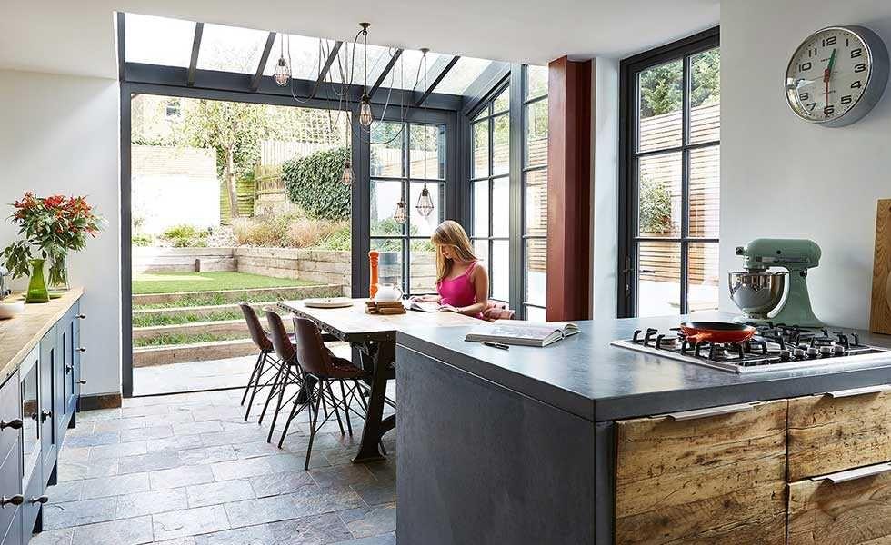Kitchen Diner Floor Plan