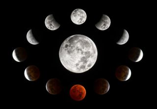 Total Lunar Eclipse Over Wisconsin 2014