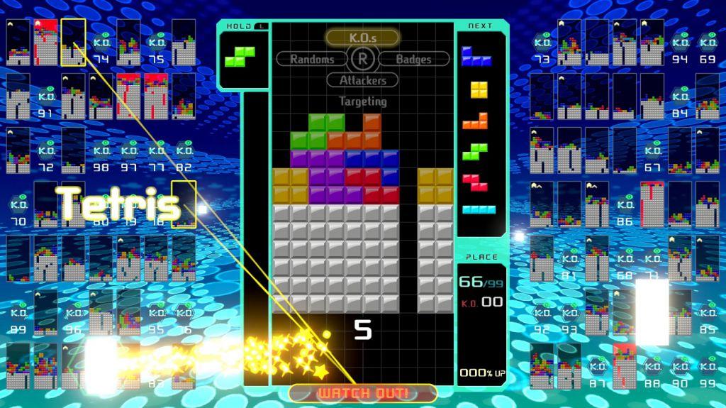 best Nintendo Switch games: tetris 99