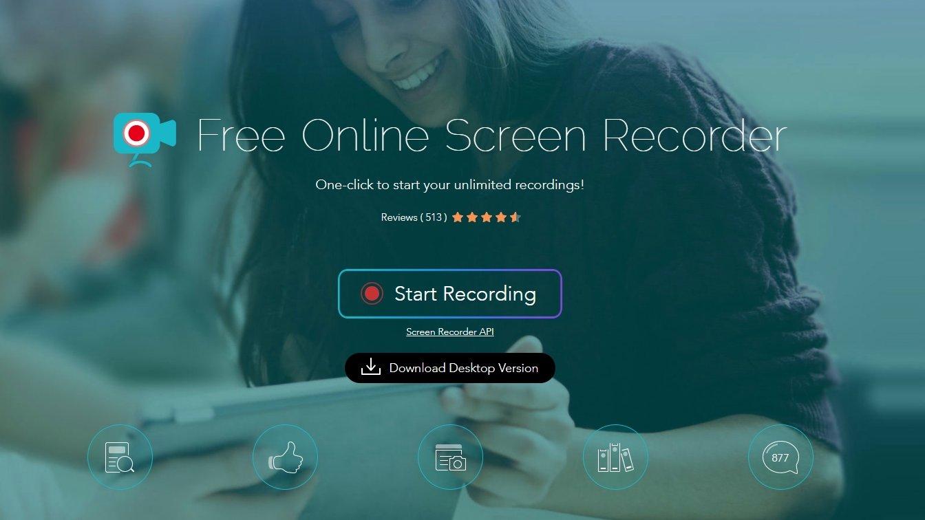 Apowersoft Online Screen Recorder screen grab