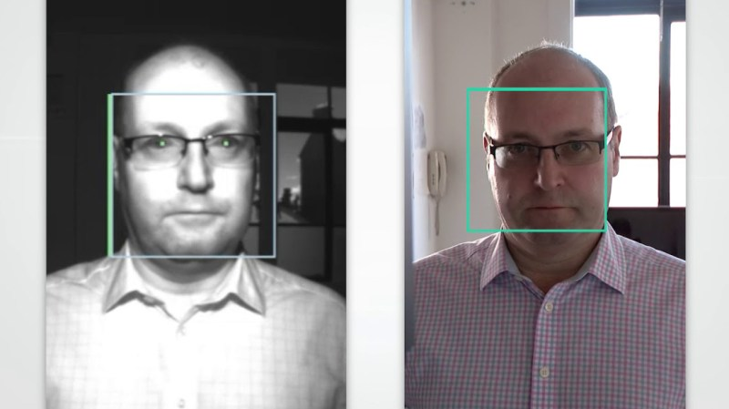 Face recognition tech demonstration
