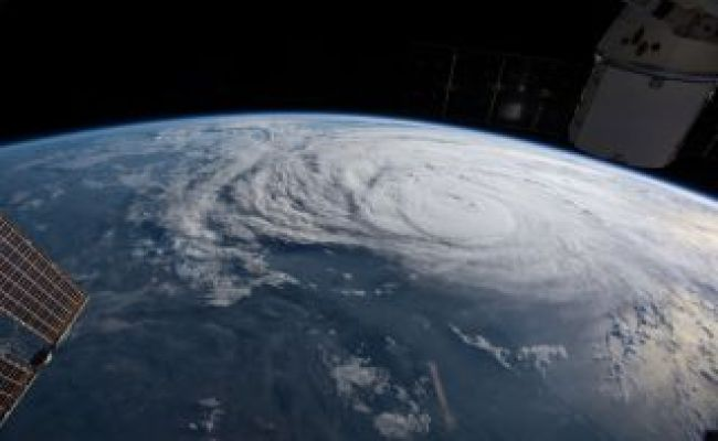 Hurricane Harvey Photos Of The Massive Storm From Space