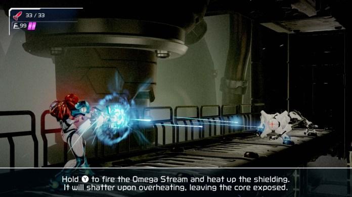 Screenshot of Metroid Dread