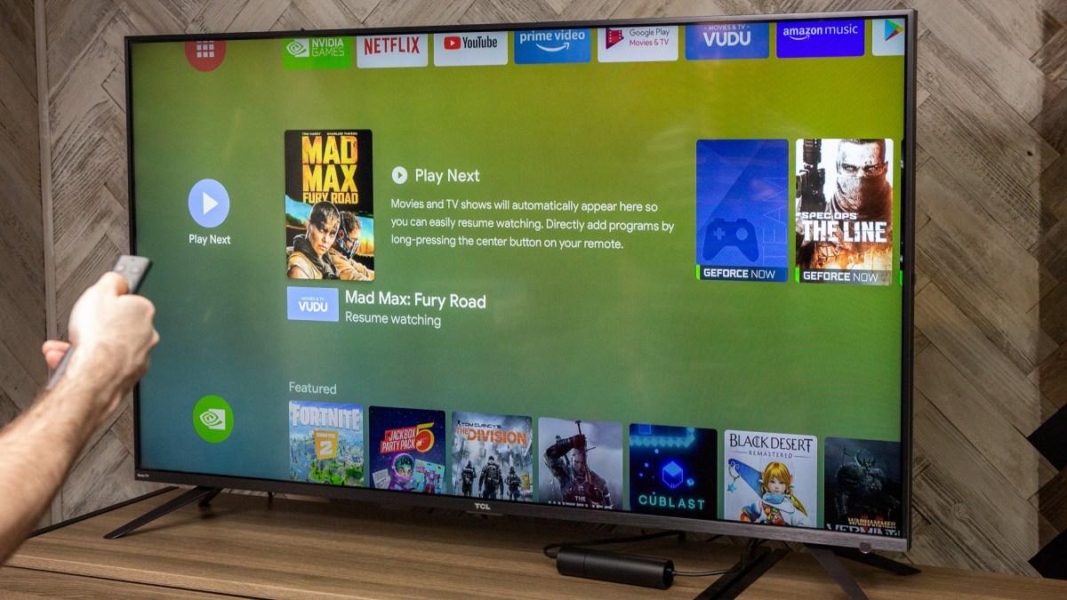 Nvidia Shield TV 2019 review: navigation