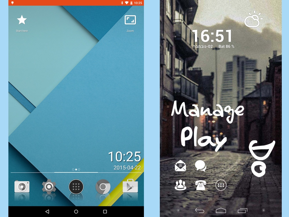 best android launchers: lightning launcher