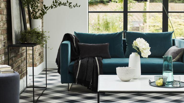 20 green living room