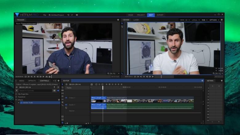 HitFilm Pro screen grab
