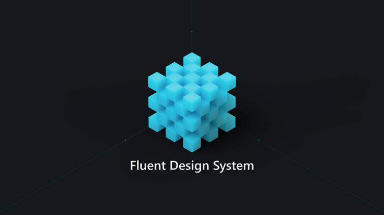 Fluent Design logo for Redstone 5