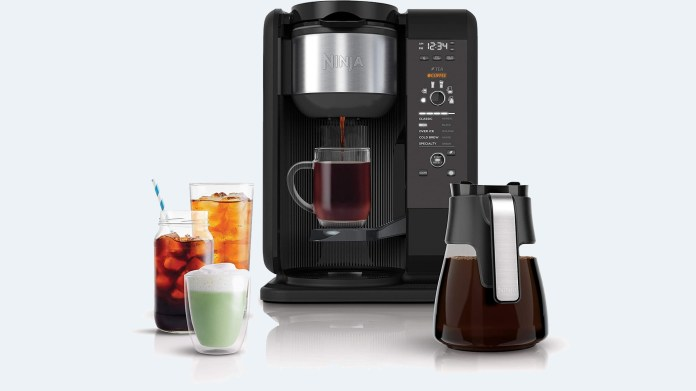 best coffee makers: ninja hot and cold brewed system