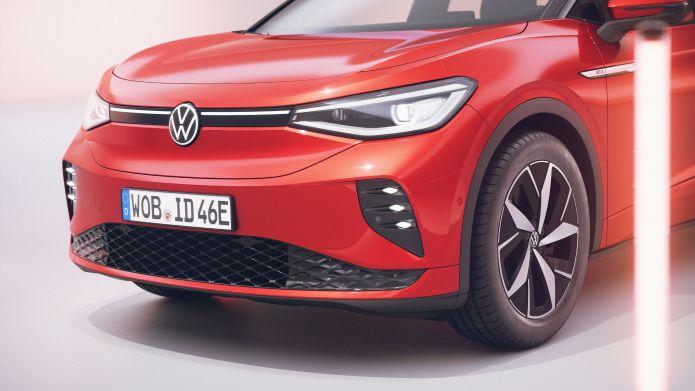 Press photos of exterior and interior of Volkswagen ID.4 GTX