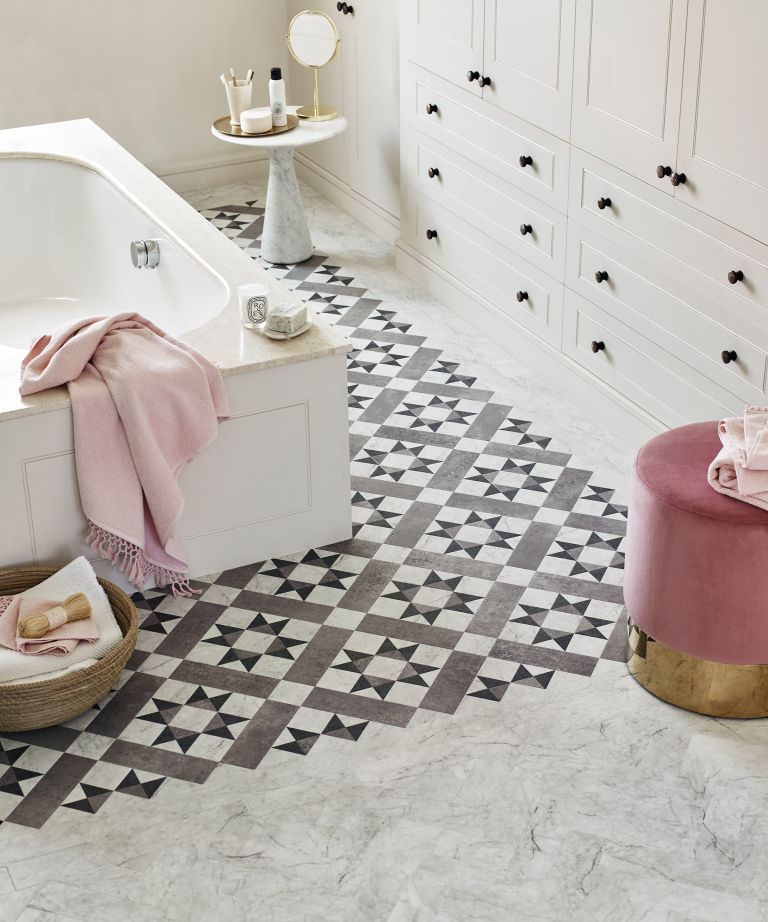 gray bathroom tile ideas homes gardens