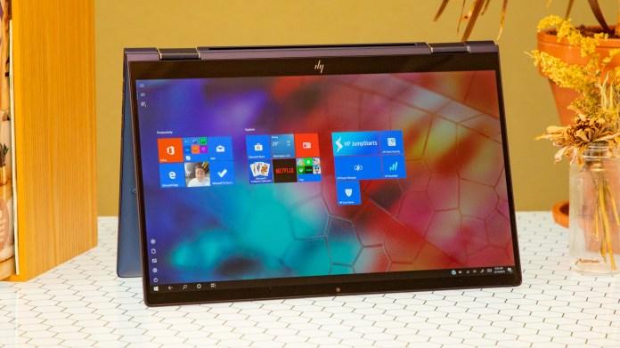 Best Windows Laptops: HP elite dragonfly