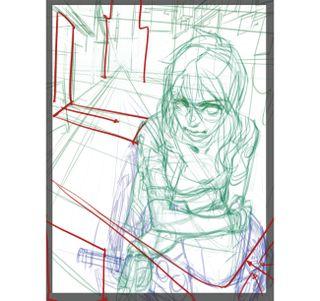 Recreate a manga classic: Background and balance