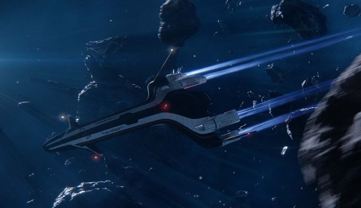 Mass Effect Fall Wallpaper Take A Tour Of The Tempest In The New Mass Effect