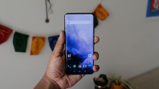 The OnePlus 7 Pro is a substantial handset