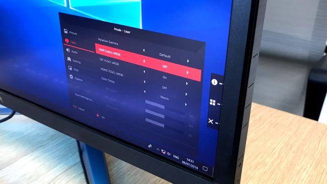 مراجعة اللابتوب الجديد Acer Predator XB3 XB273K 5