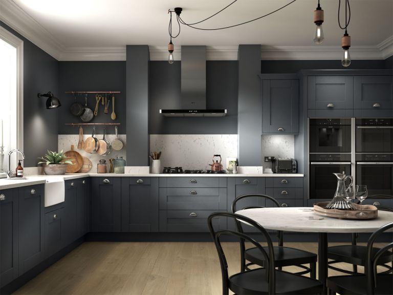 Black Kitchen Ideas 13 Dark And Dramatic Looks To Copy Real Homes