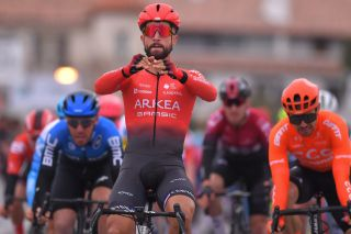 Arkea-Samsic sprinter takes first leader's jersey