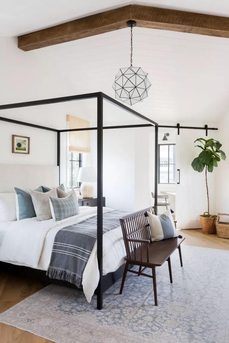 California casual bedroom
