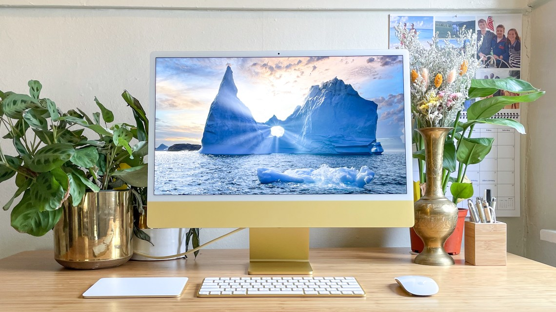 Apple iMac 2021 review (24-inch)   Tom's Guide