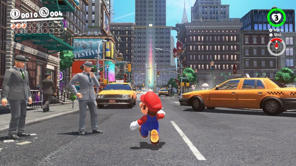 best Nintendo Switch games: super mario odyssey