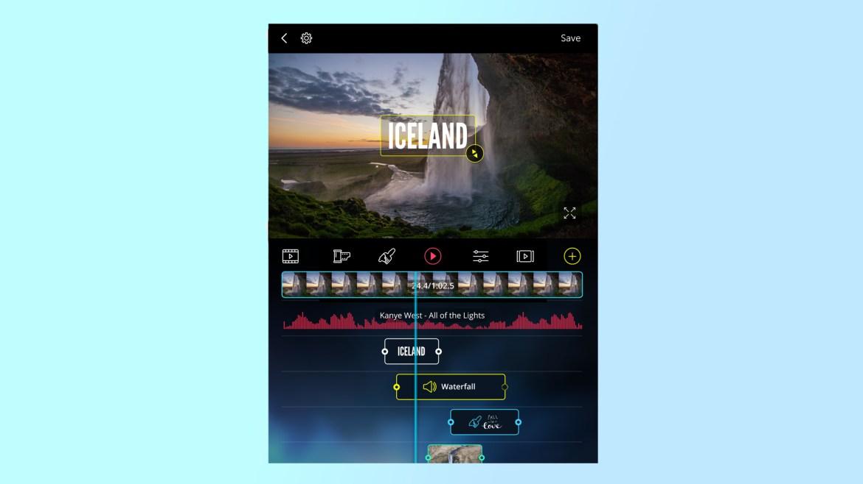 best video editing apps: Vidlab