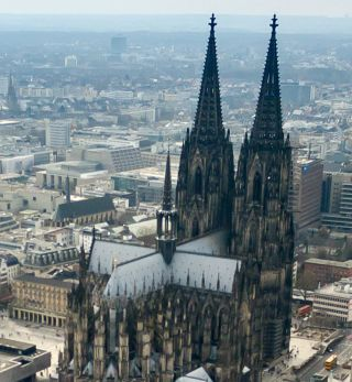 Famous buildings: Cologne Cathedral