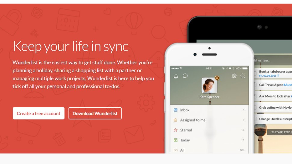 Wunderlist - A truly 'wunderful' piece of software for keeping you organized